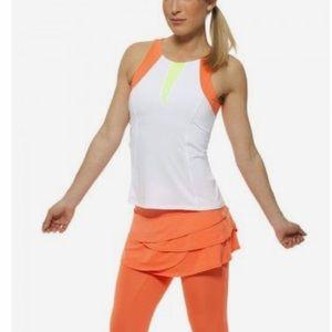 Lucky in Love Orange Capri skirt size 10